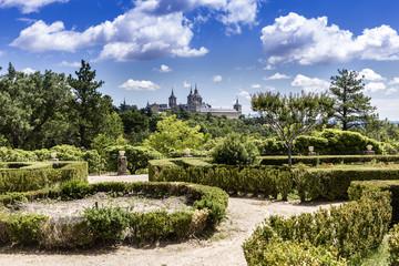 Gardens of the Infanta. San Lorenzo del Escorial. Madrid. Spain