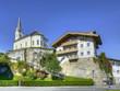 Famous tourist resort Kaprun in the Austrian Alps, Austria