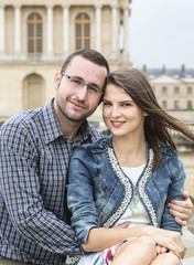 Urban Portrait of a Young Couple