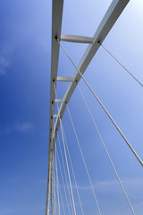Abstract detail of  bridge,