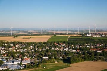 Windpark am Ortsrand