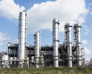 Chemical oil plant equipment petrol distillery