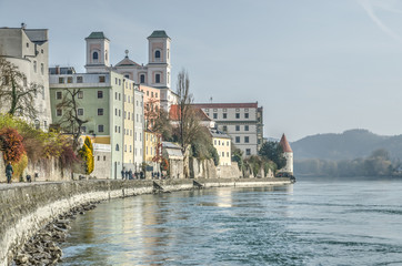 Passau, old town, Germany