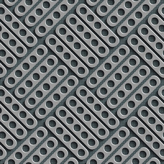 Seamless Perforated Background