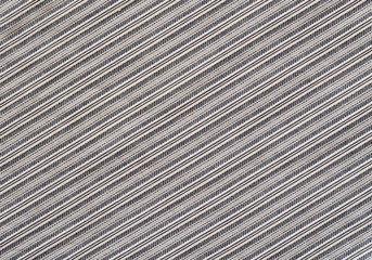 Gray striped fabric