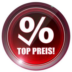 Top Preis! Button, Icon