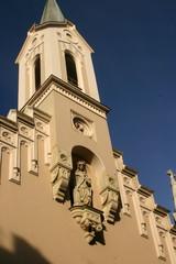 Fragment Kościoła Kapucynów, Budapeszt