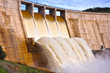 Puertollano, Montoro reservoir, gravity dam, Guadalquivir river, Spain - 71363302