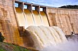 Puertollano, Montoro reservoir, gravity dam, Guadalquivir river, Spain