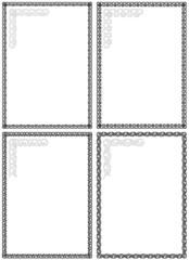 Decorative Vector Frames