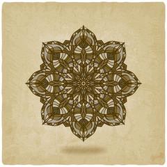 circular pattern mandala old background