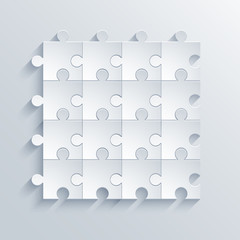 vector modern puzzle background