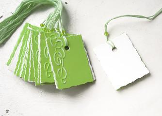 green tags