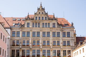 Historic House Facade in Goerlitz
