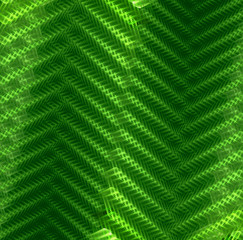 Abstract background in geometric style in green. Computer genera