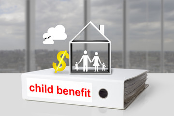 office binder child benefit family home