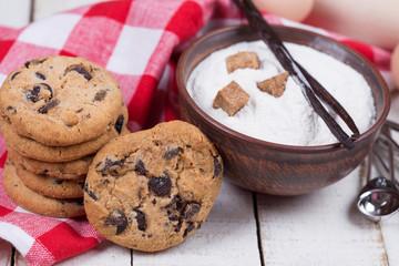 Fresh homemade cookies