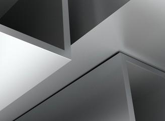 Rohre Profile quadratisch aufsteigend