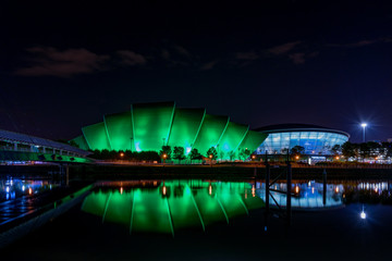 Glasgow Szkocja Scotland Scottish Exhibition Centre Hydro