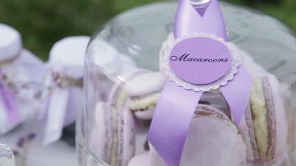 Macaroons sweet