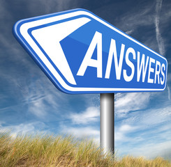 answers to solve problems