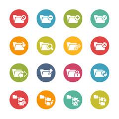 Folder Icons - 1 -- Fresh Colors Series