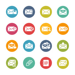 E-mail Icons -- Fresh Colors Series