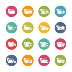 Folder Icons - 2 -- Fresh Colors Series