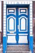 canvas print picture - Friesische Tür