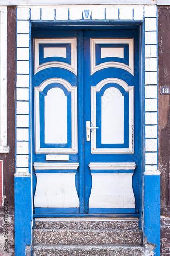 canvas print picture Friesische Tür