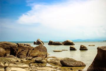 rocky Lamai Beach. Koh Samui
