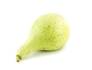 Calabash, Bottle Gourd on white background