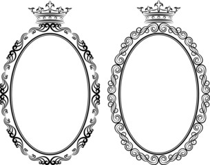 frames with crown