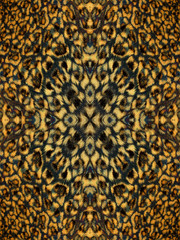 Kaleidoscope Animal Fur Pattern