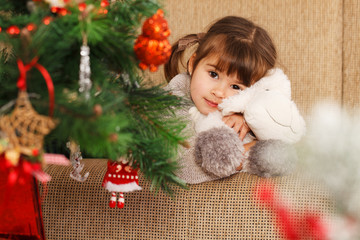 preparing for the christmas - Stock Image