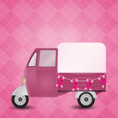 Van for breast cancer prevention