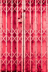 Red Steel Door