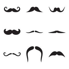 Mustache Icons