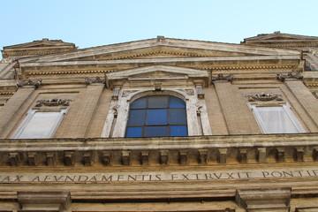 Roman architecture - church facade