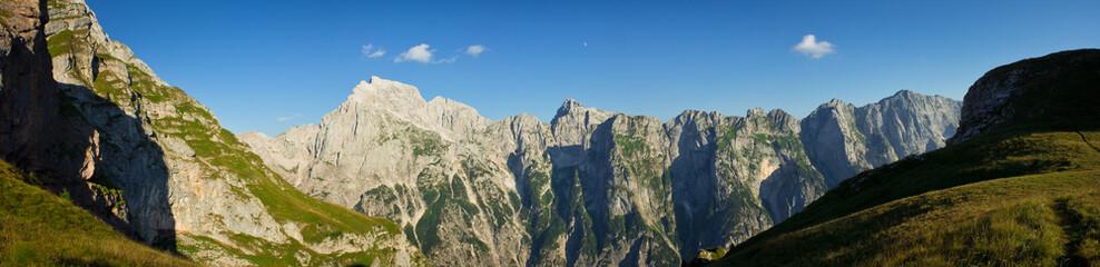 panorama from mangart