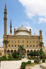 The great Mosque of Muhammad Ali Pasha. Egypt