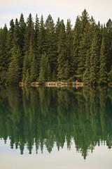 Caadian lake reflections