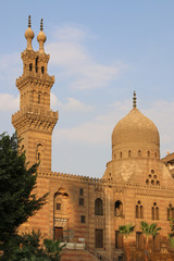 Ancient mosque in Cairo. Egypt