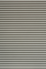 Close up of a metallic corrugated background