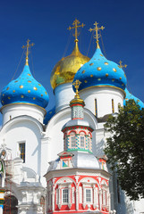 Trinity Sergius Lavra, Sergiev Posad, Russia. UNESCO World Herit