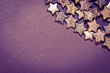 canvas print picture - star background