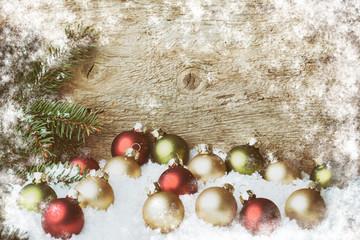 Weihnachtskarte - Hintergrund - Weihnachten