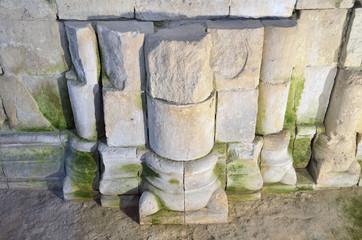 Фрагмент вымостки дворцовой площади, 12 век, Боголюбово