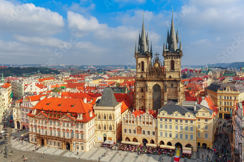 Staande foto Praag Old Town square in Prague, Czech Republic
