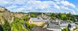 Leinwandbild Motiv A cityscape of Luxembourg city in Luxembourg